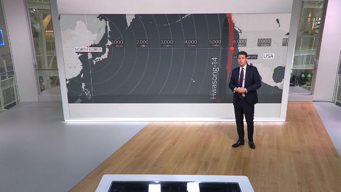 Sky's Alistair Bunkall on North Korea's nuclear capabilities