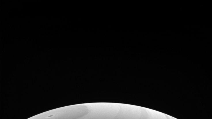 Saturn's northern hemisphere. Pic: NASA