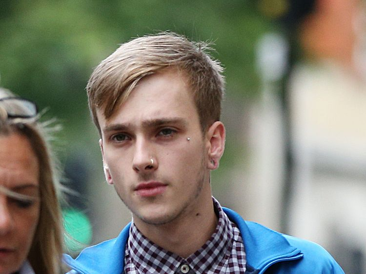 Charlie Alliston, 20, arrives at the Old Bailey in London