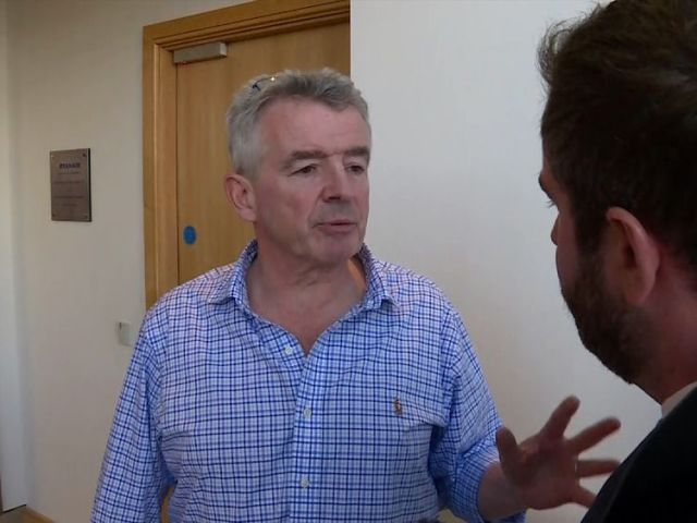 Ryanair chief executive Michael O'Leary admitted the situation was a mess