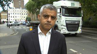 Sadiq Khan says pollution in London is causing a public health crisis