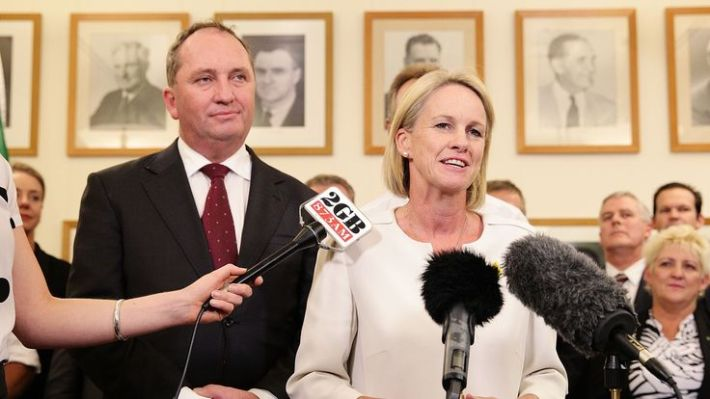 Deputy Leader of the National Party Fiona Nash