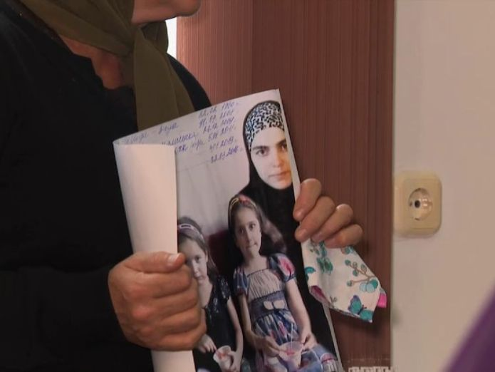 Many of the women have not heard from their daughters for months Chechen mothers' agony over fate of Islamic State daughters Chechen mothers' agony over fate of Islamic State daughters skynews chechnya islamic state 4131477