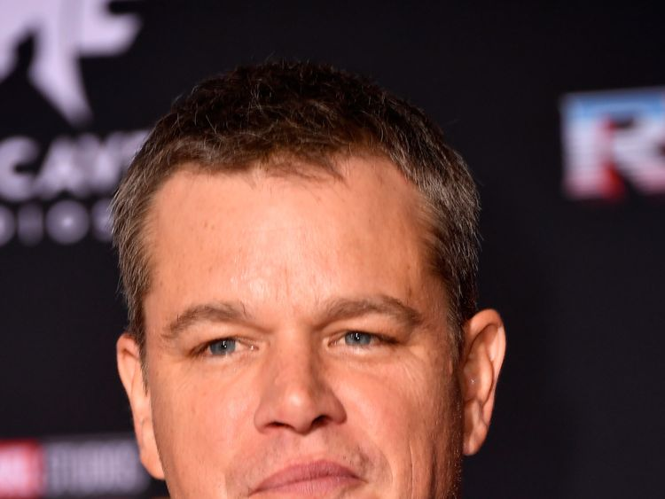 LOS ANGELES, CA - OCTOBER 10: Matt Damon attends the premiere of Disney and Marvel's 'Thor: Ragnarok' on October 10, 2017 in Los Angeles, California. (Photo by Frazer Harrison/Getty Images)