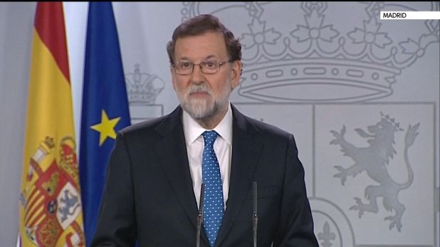 Mariano Rajoy reacts to Catalonia separatists' election victory