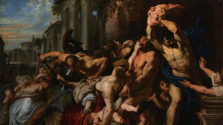 The Massacre of the Innocents, 1611–12, by Peter Paul Reubens