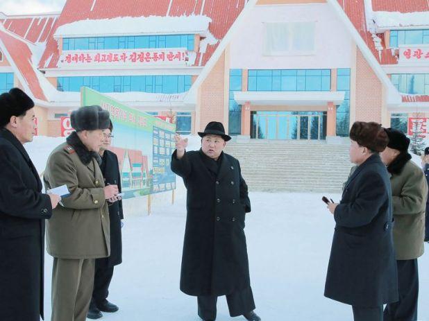 Kim Jong Il was said to have been born on Mount Paektu