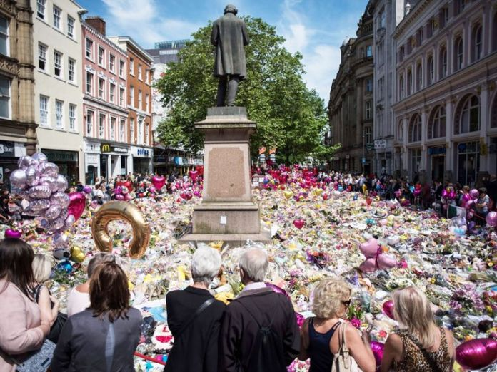 Tributes to Manchester Arena bomb victims