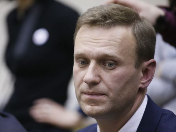 Alexei Navalny claims the corruption conviction against him is politically motivated