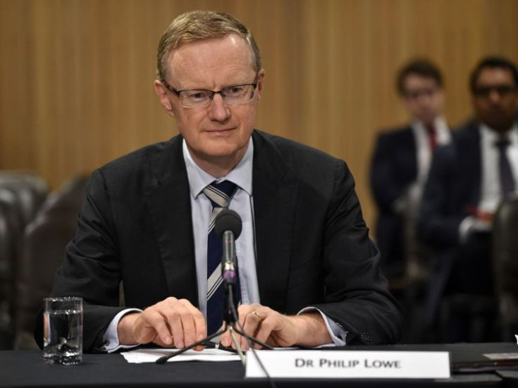 New Reserve Bank of Australia Governor Philip Lowe sits at a table for a parliamentary economics committee hearing in Sydney on September 22, 2016. Lowe said the central bank were not 'nutters' about keeping inflation in a tight range, and are instead maintaining a flexible approach as Australia, like other economies, battles low inflation amid subdued oil prices and tepid global trade. / AFP / PETER PARKS (Photo credit should read PETER PARKS/AFP/Getty Images)