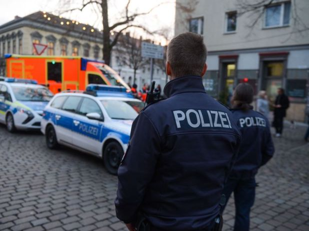 Police are on high alert after the terror incident in Berlin last Christmas