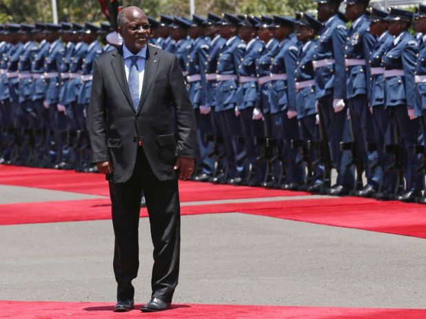 Tanzania's President Magufuli