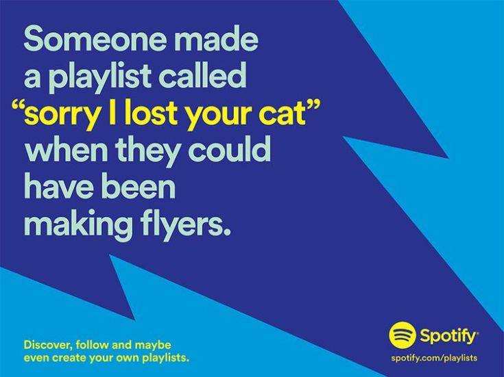 Spotify advertising campaign poster. Pic: Spotify
