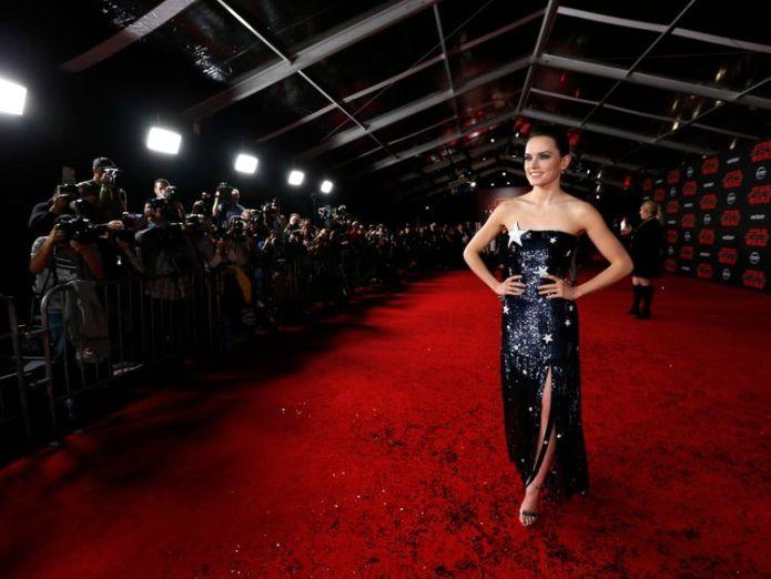 Daisy Ridley wowed in a sparkly star dress Star Wars director strikes back at trolls after Kelly Marie Tran quits Instagram over abuse Star Wars director strikes back at trolls after Kelly Marie Tran quits Instagram over abuse skynews star wars daisy ridley 4178848