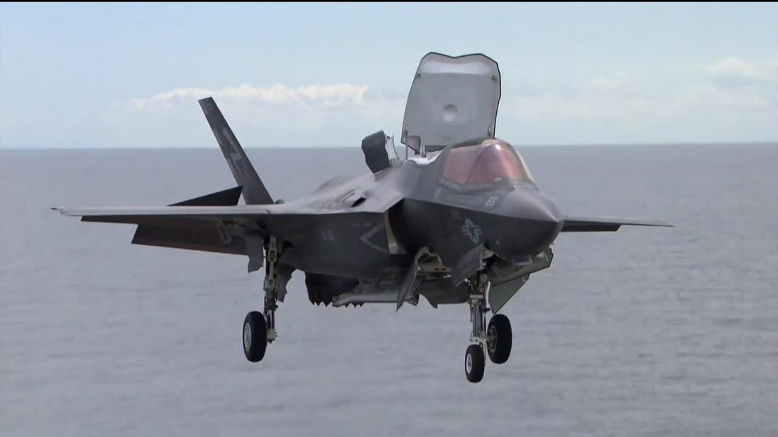 The most expensive fighter jet in RAF history