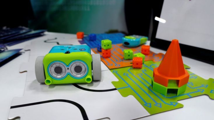 A Botley Coding Robot by Learning Resources, designed to teach coding basics to children as young as 5