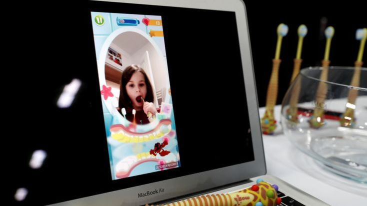 A Magik augmented reality toothbrush for children by Kolibr