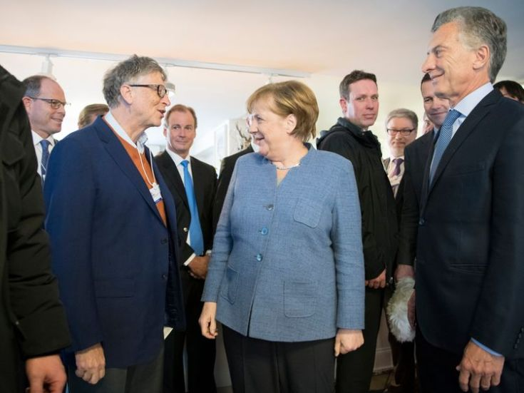 gates bill davos economic forum