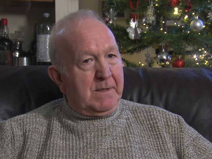 Frank Thornburrow believes he was conned