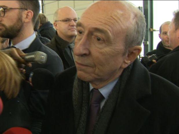 France's interior minister Gerard Collomb