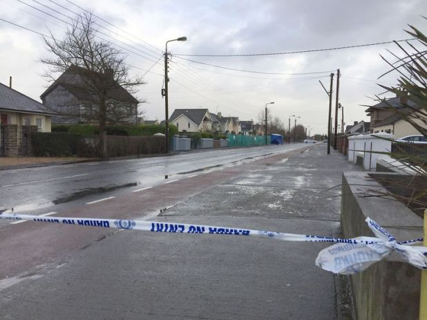 Two local men were also injured in separate attacks in the area