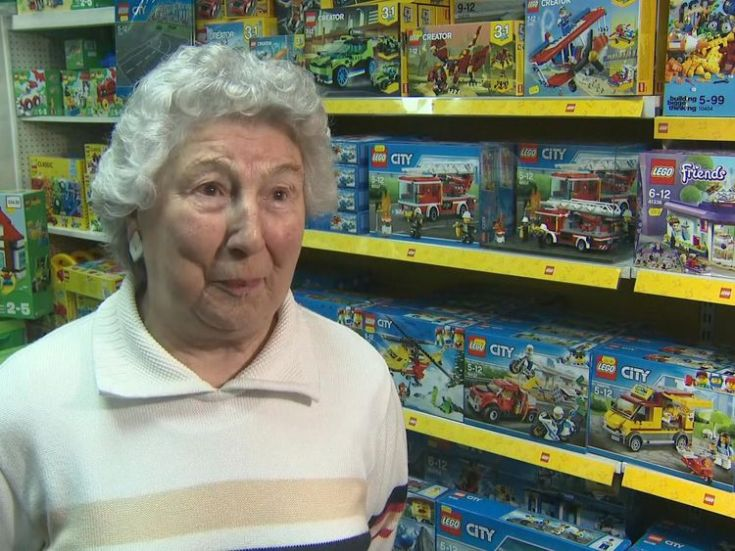 Pam Osborne and her late husband, Jim, were on honeymoon in Brighton when they placed an order for Lego