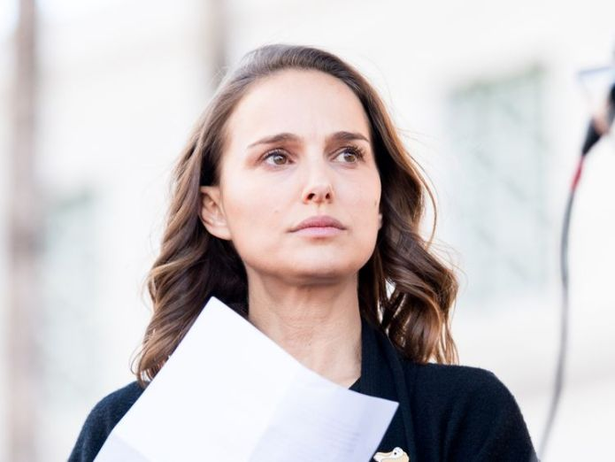LOS ANGELES, CA - JANUARY 20: Actress Natalie Portman attends the women's march Los Angeles on January 20, 2018 in Los Angeles, California. (Photo by Emma McIntyre/Getty Images) Calls for Natalie Portman to be stripped of Israeli citizenship after award snub Calls for Natalie Portman to be stripped of Israeli citizenship after award snub skynews natalie portman 4211790