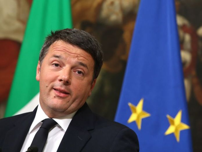 Matteo Renzi fell from office a year ago after calling and losing a referendum David Cameron style voters go to the polls Voters go to the polls skynews renzi matteo renzi 4215592