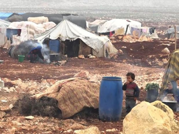 The Syrian Government's fresh assault on the last rebel stronghold in the country causes thousands to flee