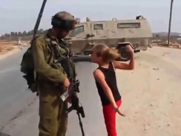 Ahed first came to international attention in 2012, when at the age of 11, she confronted an Israeli soldier who was twice her size.