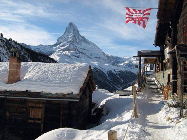 Zermatt is near the iconic Matterhorn. File pic