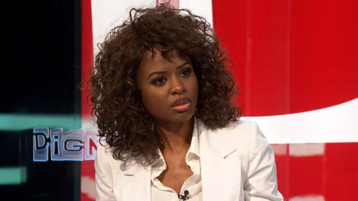 Broadcaster June Sarpong on the panel of The Pledge Oxfam chief executive to face MPs over Haiti sex scandal Oxfam chief executive to face MPs over Haiti sex scandal skynews the pledge pledge june 4232974