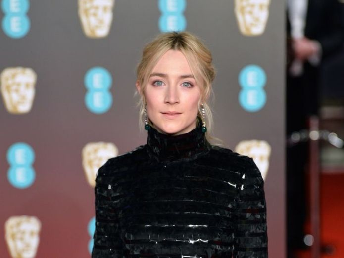 Saoirse Ronan says now is 'an important time' BAFTA Awards go black for Time's Up and #MeToo BAFTA Awards go black for Time's Up and #MeToo skynews bafta saoirse ronan 4234860