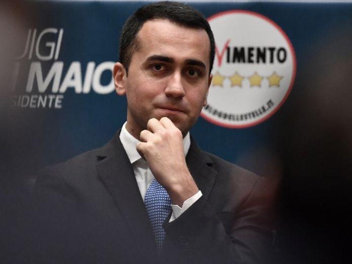 Luigi Di Maio voters go to the polls Voters go to the polls skynews di maio italy italian election 4237965