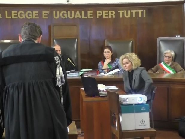 The trial has begun of Lukasz Herba with police officers evidence