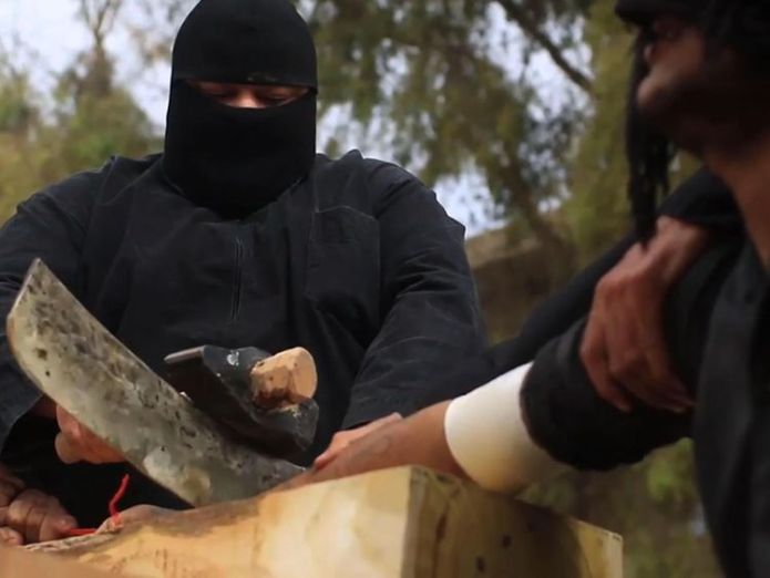 From ISIS propaganda video Islamic State's former 'Prince of Police' in Raqqa warns terrorists planning new attacks Islamic State's former 'Prince of Police' in Raqqa warns terrorists planning new attacks skynews isis is 4232780