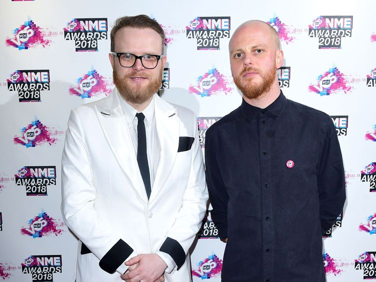 NME editor Mike Williams presented Gallagher with the award