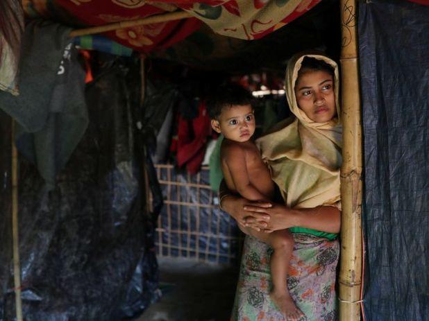 Rehana Khan, whose husband Mohammed Nur was killed