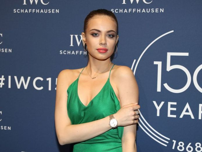 Xenia Tchoumi says young models can now speak up Fashion comes out of the closet over abuse after Weinstein scandal Fashion comes out of the closet over abuse after Weinstein scandal skynews xenia tchoumi blogger 4232402