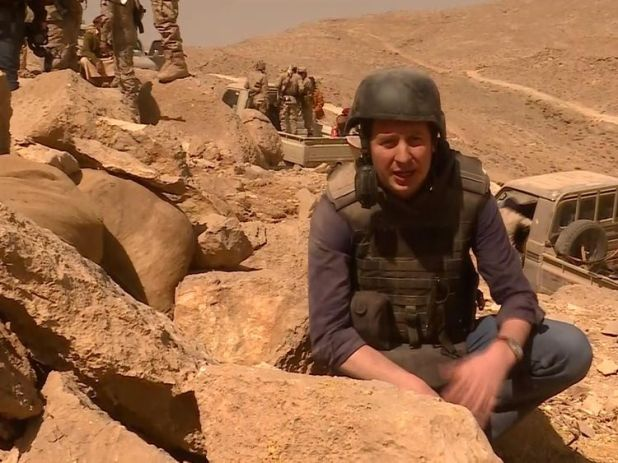 Sky News' Alistair Bunkall was given rare access to Yemen