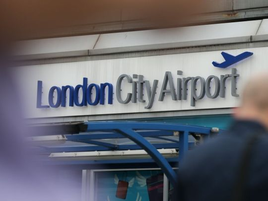 A general view of London City Airport