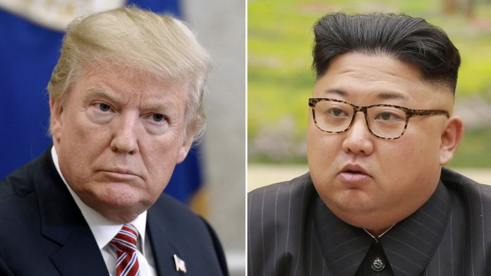 Donald Trump and Kim Jong Un North Korea - a chance for Trump to become one of history's 'great men'? North Korea – a chance for Trump to become one of history's 'great men'? skynews donald trump kim jong un 4250776