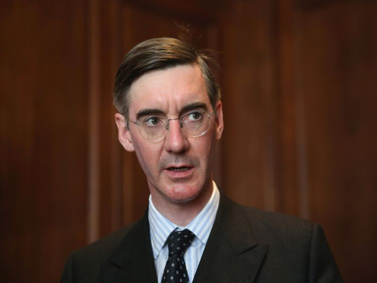 LONDON, ENGLAND - MAY 17:  Jacob Rees-Mogg MP speaks during a 'Bruges Group' press conference at on May 17, 2016 in London, England. The event focused on the issues surrounding the European Arrest Warrant and how Britain would be, in the opinion of the speakers, better placed outside of the European Union.  (Photo by Dan Kitwood/Getty Images)