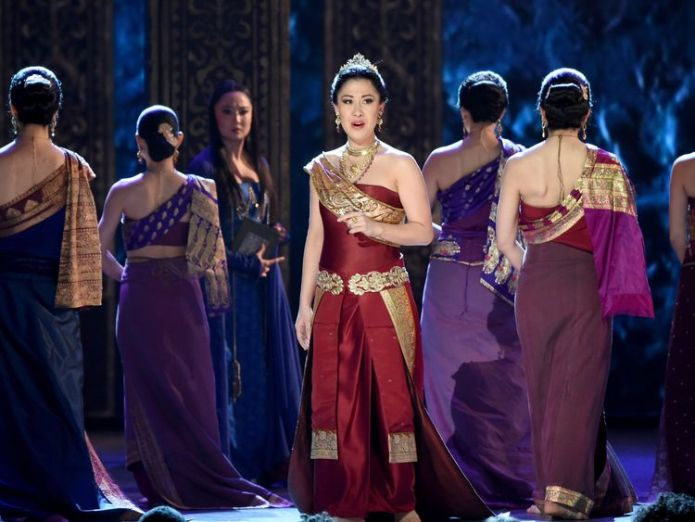 Ruthie Ann Miles and the cast of 'the King and I' perform onstage at the 2015 Tony Awards at Radio City Music Hall on June 7, 2015 in New York City Broadway star Ruthie Ann Miles loses unborn baby after crash in New York Broadway star Ruthie Ann Miles loses unborn baby after crash in New York skynews ruthie ann miles blumenstein 4248883