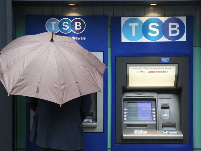 TSB has five million customers in total  TSB boss steps down after 'challenging last few months' skynews tsb bank branch 4291246