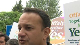 Leo Varadkar says there is no complacency Narrow support for abortion ahead of Irish referendum Narrow support for abortion ahead of Irish referendum skynews ireland referendum 4315766