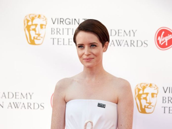 Claire Foy BAFTA stars 'passionately' back Time's Up campaign BAFTA stars 'passionately' back Time's Up campaign claire foy actress baftas sky news 4310177