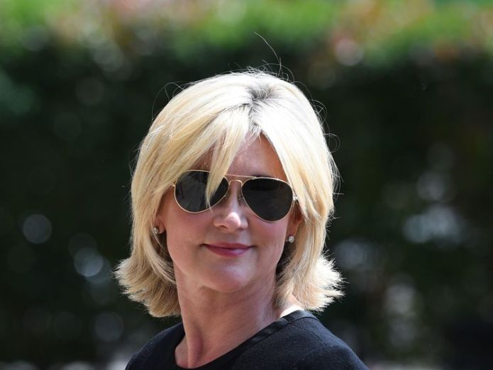 Anthea Turner arrives at Old Church David Walliams and Graeme Souness among mourners at service David Walliams and Graeme Souness among mourners at service skynews anthea turner dale winton 4317366