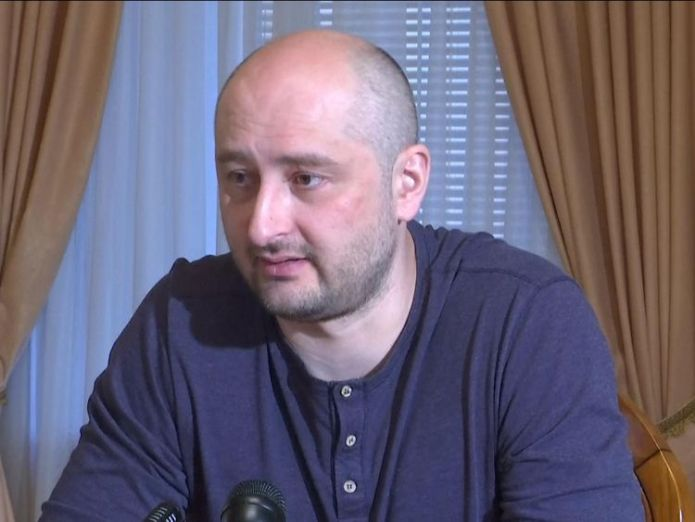 Arkady Babchenko i watched news of my death at the morgue I watched news of my death at the morgue skynews arkady babchenko russia 4324897