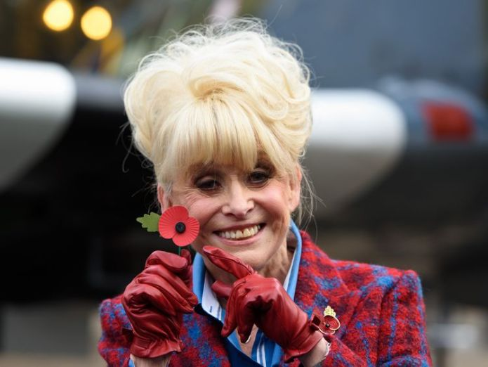 Barbara Windsor was made a Dam for her charity work Dame Barbara Windsor diagnosed with Alzheimer's Dame Barbara Windsor diagnosed with Alzheimer's skynews barbara windsor poppy 4305378